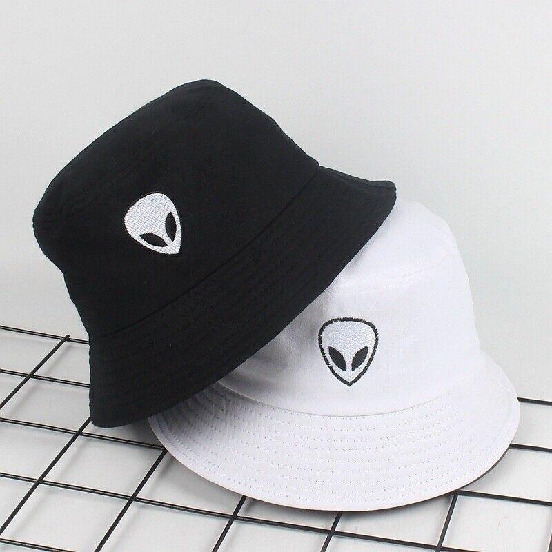 embroidery bucket hat for men women hip hop fisherman hat flat hat JJ