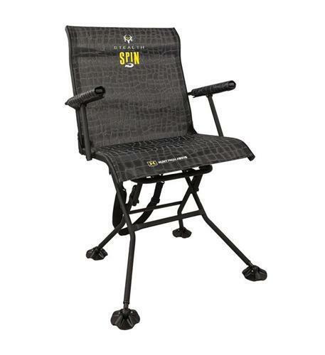 HAWK Stealth Spin Cego Cadeira Bone Collector-Gira Completo 360-Graus HWK-HS3103