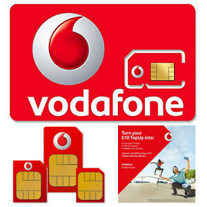 Nano Sim Karte Vodafone.Details About Payg Pay As You Go Vodafone Standard Micro Nano Sim Card Number For Mobile Phone