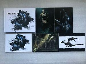 Dark Souls Art Book Prepare to Die Edition + Dark Souls cartes postales PS3/PS4/XBOX
