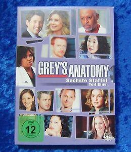 Grey´s Anatomy, Die jungen Ärzte, Staffel 6.1, DVD Box Season Teil Eins