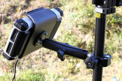 Algiz 10X Tablet HandHeld Pole Mount with Compass /& Level
