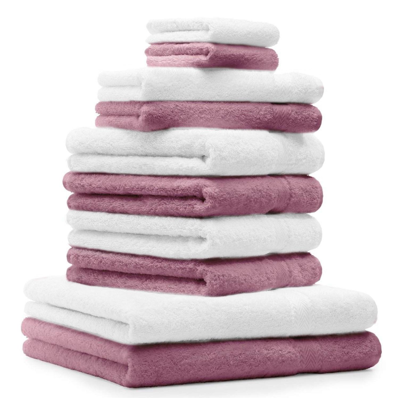 Betz 10tlg Handtuch Set CLASSIC Duschtuch Handtücher Gästetuch Seiftücher     | Reparieren