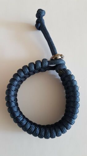 Paracord Survival Bracelet Mad Max Inspired Adjustable Many Colors