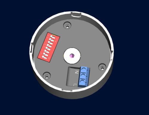 Funk-Deckenverteiler Funk-Kabelabdeckung für Funksteckdose Funkbaldachin