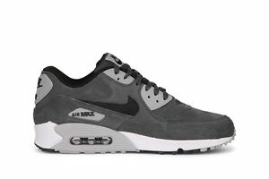 online retailer coupon codes new styles Size 13 NIKE Men AIR MAX 90 LEATHER 652980 012 Grey Black White ...