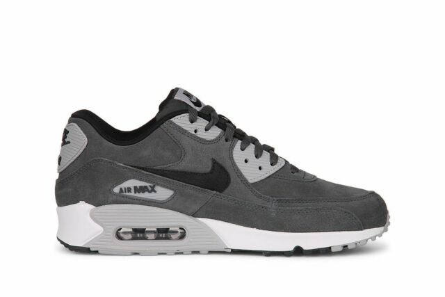 best service 3b291 01a71 reduced size 13 nike men air max 90 leather 652980 012 grey black white  c7538 715df