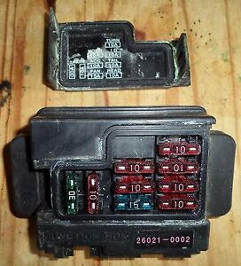 VULCAN VN 1600 VN 1500 JUNCTION BOX FUSE CASE ELECTRIC ...