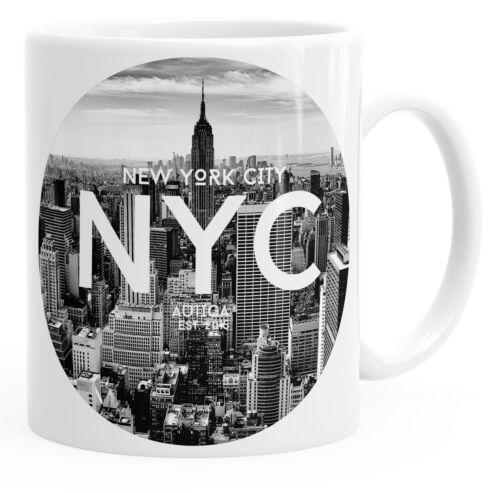 Tasse mit New York City Fotoprint Manhattan Rockefeller Center NYC Autiga®