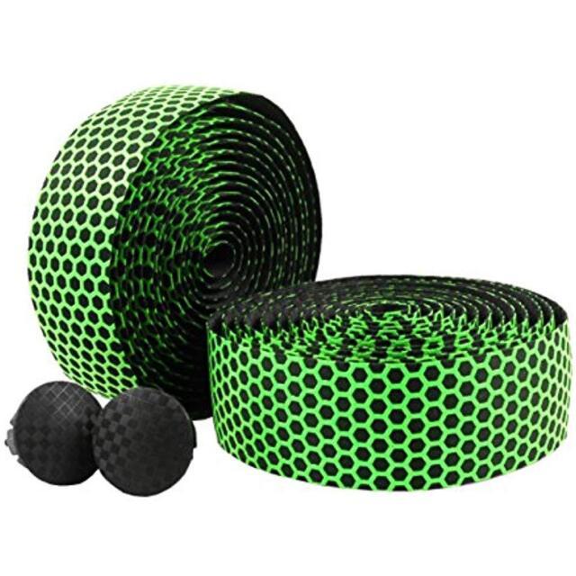 2x Bike Bicycle Handlebar Tape Fixed Plug Rubber Anti-Skip Wrap Silicone Plugs