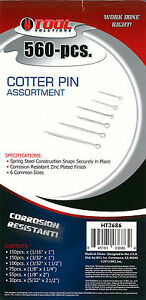 560 Cotter Pin Assortment Set HT3686 Tool Solutions