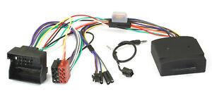 Adapter-Lenkradfernbedienung-Canbus-fuer-BMW-E87-E90-E60-E61-MINI-Alpine-Radio