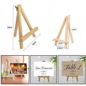 15-24cm-Small-Wooden-Easel-Stand-Mini-Table-Desktop-Art-Wedding-Photo-Display-UK