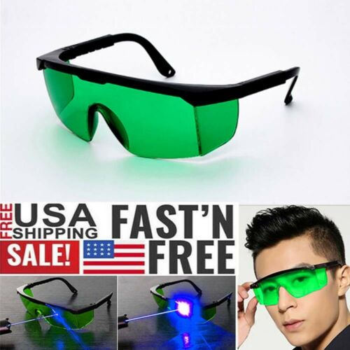 Red //Blue //Green Eye Protective Goggles Laser Safety Glasses for Various Lasers