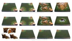 NEW-Dwarven-Forge-MM-031-Cavernous-Lake-Expansion-Set-D-amp-D-Dungeon-Tiles-Resin