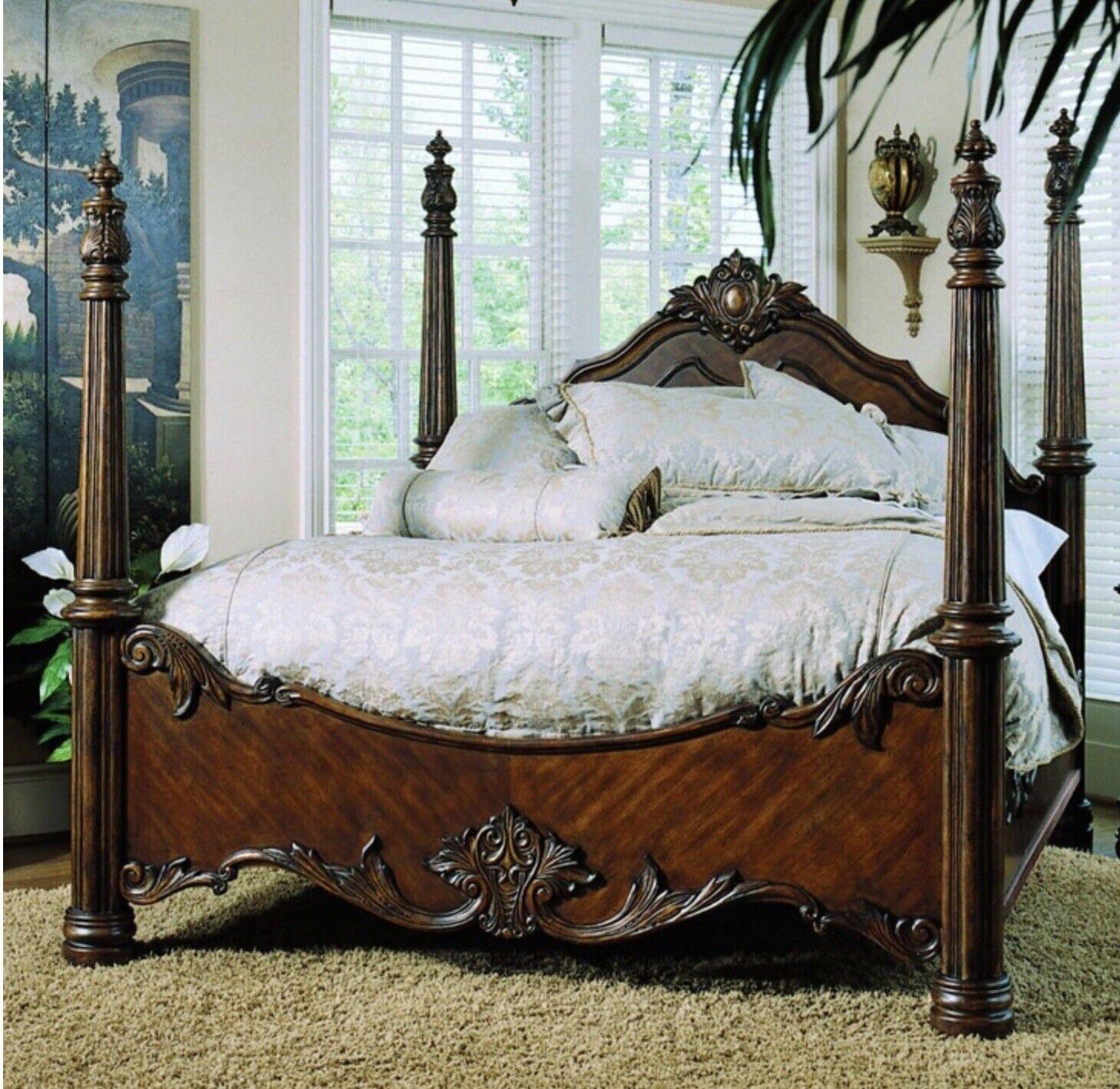 Pulaski Edwardian Queen Bedroom Set For Sale Online Ebay