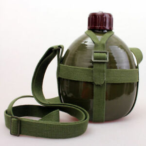 CHINESE-MILITARY-PLA-ARMY-TYPE-87-WATER-BOTTLE-CANTEEN-WATER-BOTTLE-1L