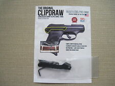 ClipDraw for Ruger LC9S/PRO-9MM Concealed Carry IWB Belt Clip Holster