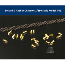 Bollard & Anchor Chain for 1/350 Scale Model Ship CYG007
