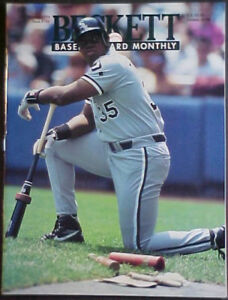 Details About January 1994 Beckett Baseball Card Monthly 106 Frank Thomasnolan Ryan Covers