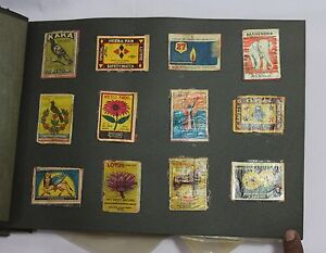 INDIAN OLD VINTAGE MATCHBOX MIX LABELS SHEET INDIAN MATCH BOX COLLECTIBLE 008