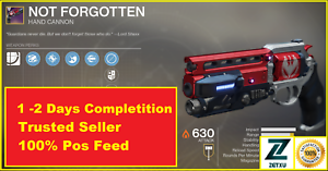 Not-Forgotten-Destiny-2-Comp-Glory-5500-Unbroken-XBOX-PS4-PC-SAME-DAY