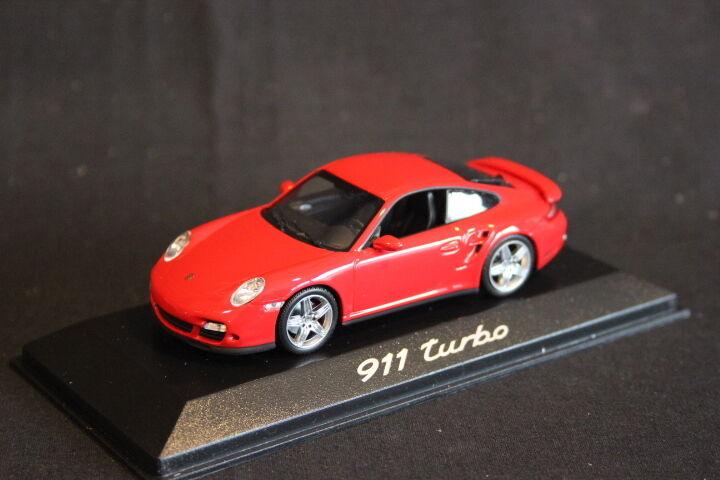 Minichamps (DV) Porsche 911 Turbo 1 43 rot (HB)