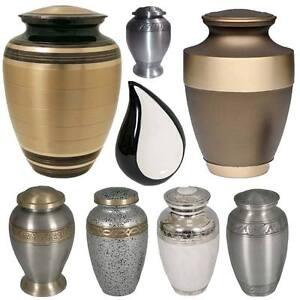 Cremation Ashes Funeral Urns Pots Memorial Tear Mini Grave Vases ...