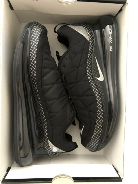 Nike Air Max MX 720 818 Black/metallic Silver US 10.5 UK9.5 EU 44,5 RRP $260