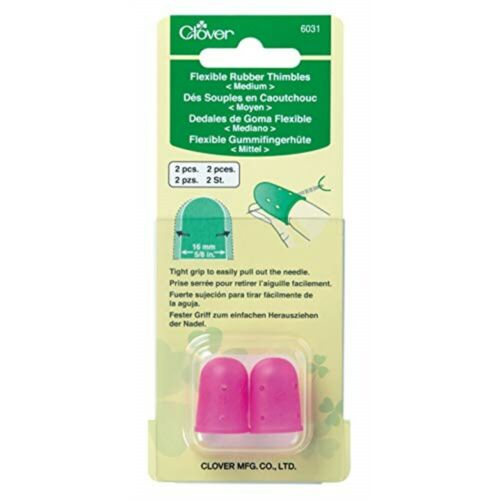 Clover Flexible Rubber Thimble-medium