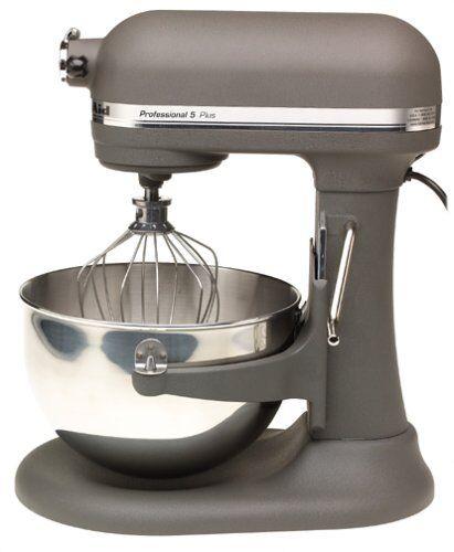 New KitchenAid Pro Stand Mixer 450-W 5-QT Kv25gOXgr All Metal Imperial Grey
