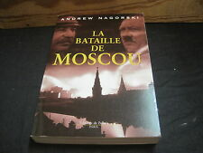 Andrew NAGORSKI: la bataille de Moscou
