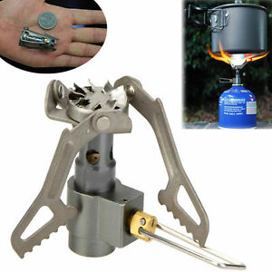 Mini 2700W Gas Stove Titanium Alloy Furnace Burner Picnic Cookout Camping Hiking