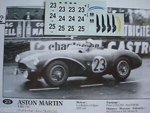DECALS-KIT-1-43-ASTON-MARTIN-DB3S-2-LE-MANS-1955-3-VERSION