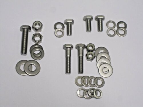 CLASSIC AUSTIN MINI STAINLESS ALTERNATOR FITTINGS COMPLETE KIT