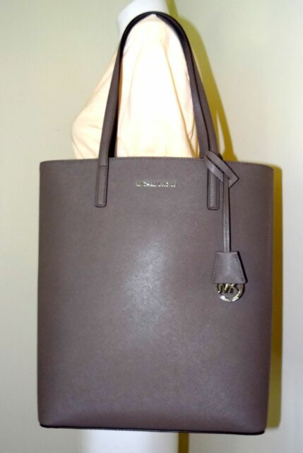 d7d735a7fb24 Michael Kors Hayley Large Reversible North South Leather Tote for ...