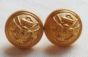 sélectionner pour dernier authentique regard détaillé Détails sur Boutons dorés pour jugulaire casquette AMIRAL MARINE NATIONALE  France ORIGINAL 2