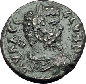 SEPTIMIUS-SEVERUS-193AD-Marcianopolis-Authentic-Ancient-Roman-Coin-EAGLE-i65001
