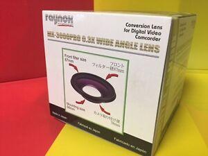 Raynox-MX-3000-PRO-0-3X-Semi-Fisheye-ULTRA-WIDE-LENS-to-Sony-VX2100-VX2000