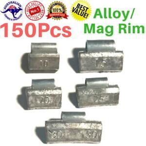 Mix-Alloy-Mag-Rim-Lead-Wheel-Balance-Weights-Truck-Car-Clip-On-Balancing-150pcs