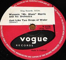 WYNONIE HARRIS ~ GOOD MORNING b/w JUST LIKE DROPS ~ UK VOGUE 78 RPM E-/E- GRADE
