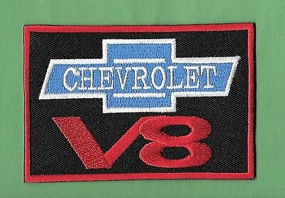 NEW 1 1//2 X 4 INCH CHEVROLET BOW TIE IRON ON PATCH FREE SHIPPING