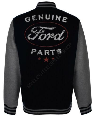 Ford Baseball Varsity Jacket Licensed Classic Genuine Parts Logo A21281
