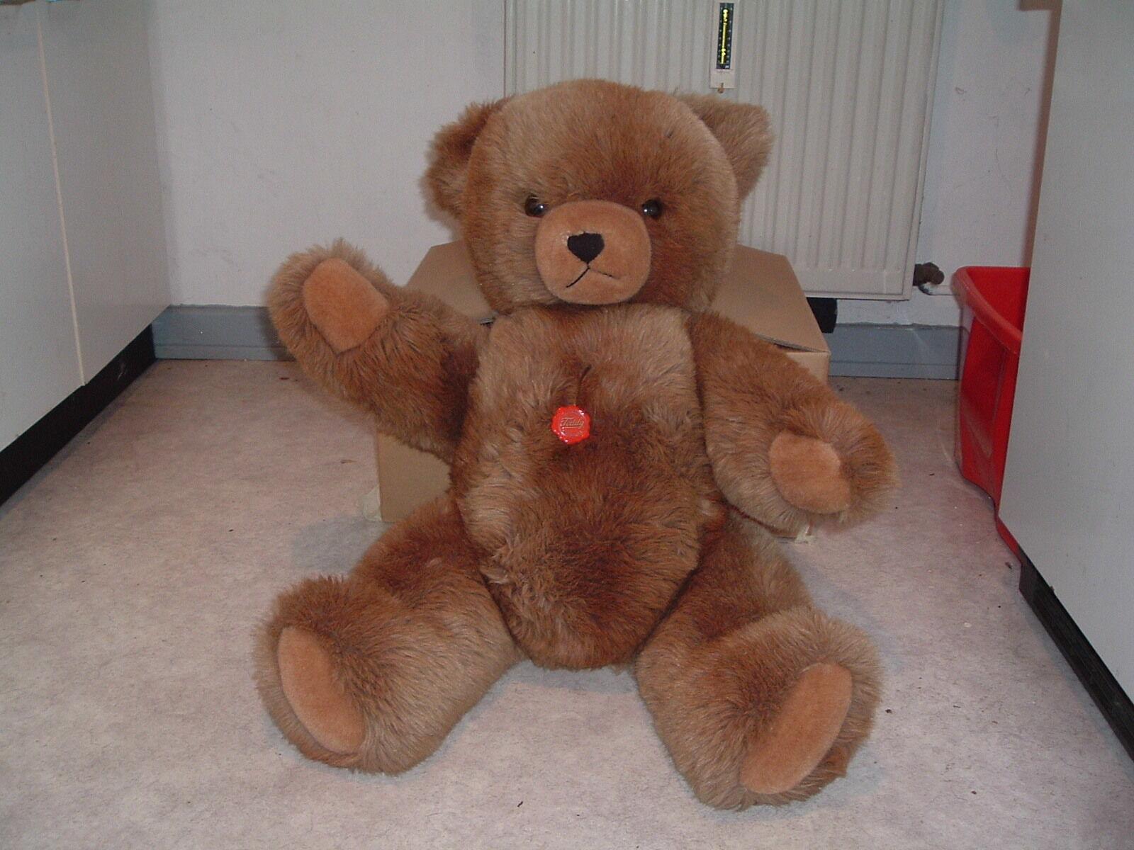 Teddy Hermann Teddybär 80cm / RIESIG SÜSS  WUNDERSCHÖN BÄR