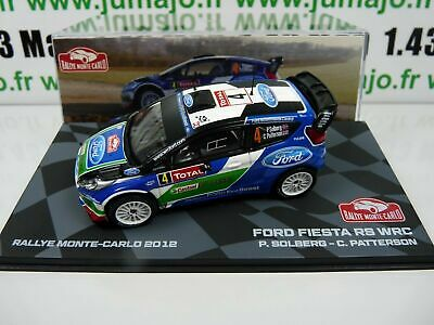Ford Fiesta RS WRC Rallye Monte Carlo 2015 Evans 1:43 IXO Direkt Voiture 1503