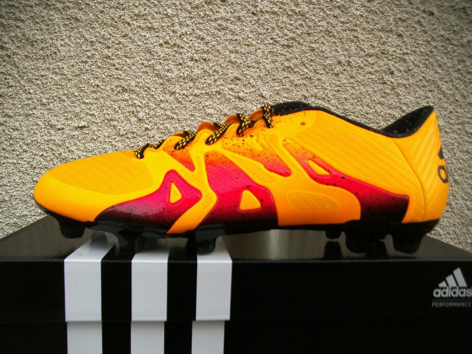 Adidas X15.3 FG AG Orange-Rottöne Gr. 41 1 3 3 3 - 46 (S74632    New Products  525e29