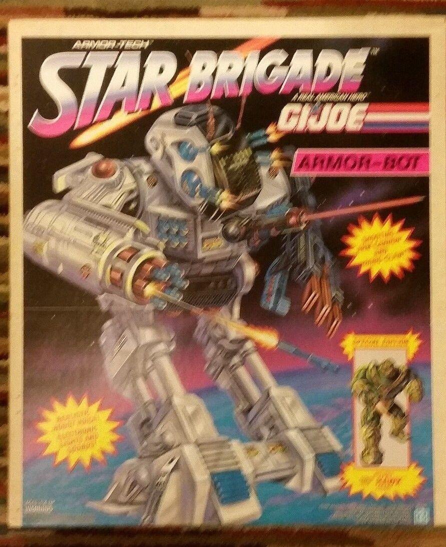1993 MIB GI Joe Star Brigade Armor Bot SEALED