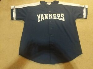 Image is loading New-York-Yankees-Starter-Jersey-size-XL-Vintage- f780aa353f7