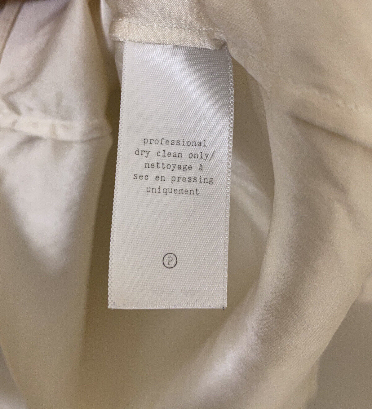 RAG AND BONE SILK BLOUSE - MADE IN USA - WHITE - … - image 6