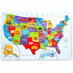 Juvale-44pcs-Magnetic-U-S-Puzzle-Map-for-Kids-19-x-13-Inches
